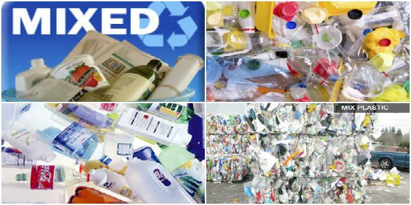 mixed plastics recycling